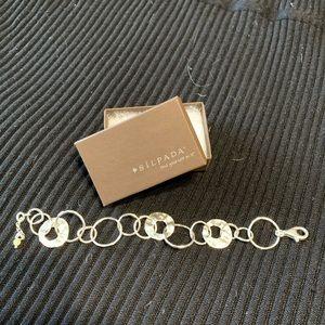 Silpada silver bracelet - retired